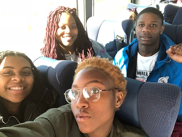 CPS students head to Washington, D.C., for the March for Our Lives protest.