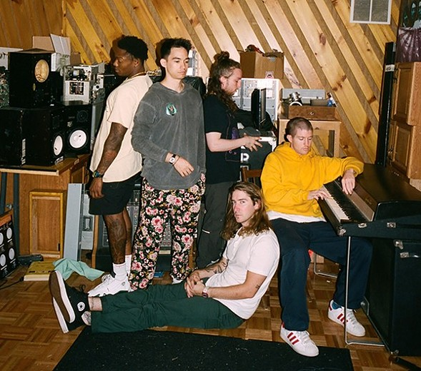 Catch Turnstile at the Bottom Lounge Wed 4/11. - JIMMY FONTAINE