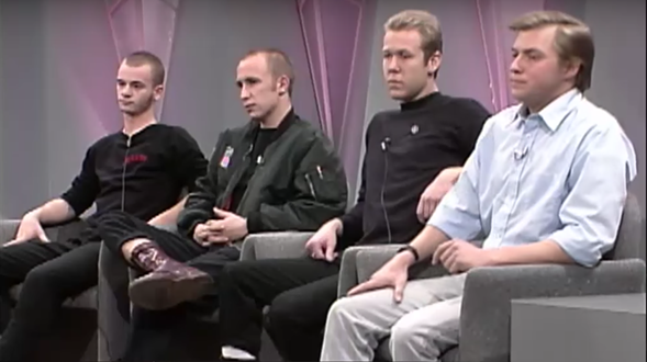 Oprah Winfrey invited a panel of racist skinheads on her show in 1988. - COURTESY OF OWN'S YOUTUBE CHANNEL