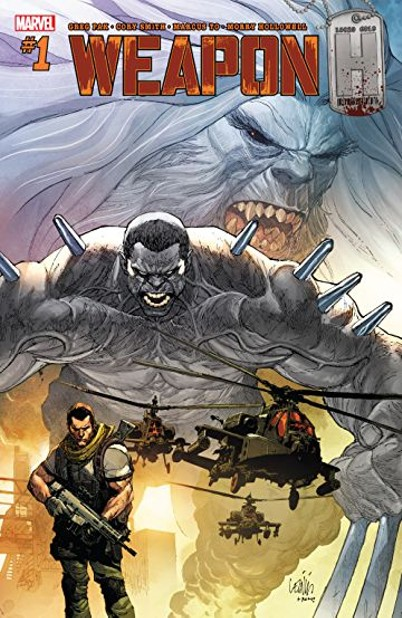 Weapon H #1 with cover art by Leinil Yu and Romulo Fajardo Jr.