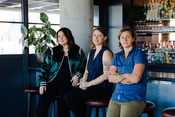The founders of Chicago Style: Sharon Bronstein, Shelby Allison, and Caitlin Laman - ANJALI PINTO