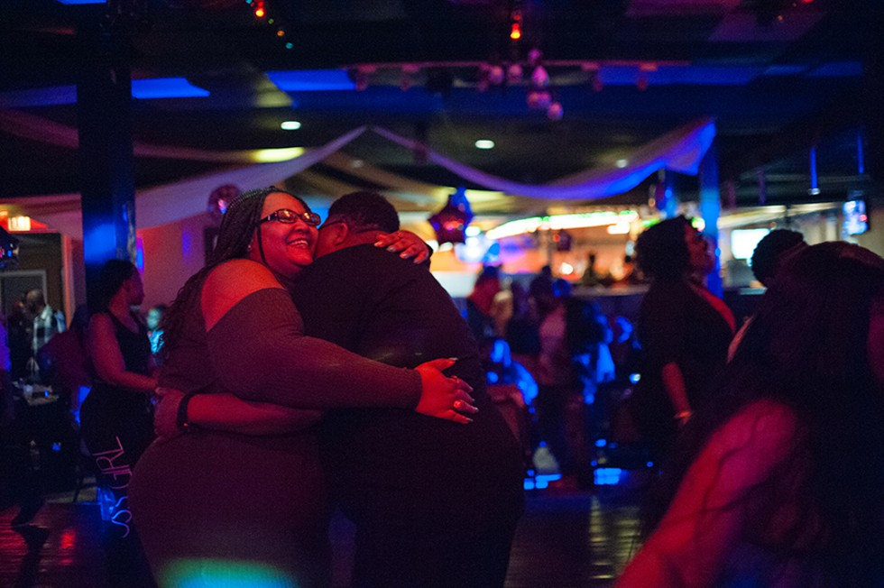 The scene at the club on a recent Friday night. - TONIKA JOHNSON