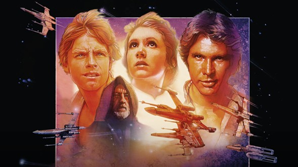 The force is strong with three of these four characters. - ROYAL ALBERT HALL