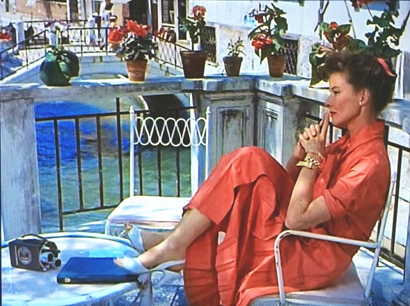 Katharine Hepburn in David Lean's Summertime