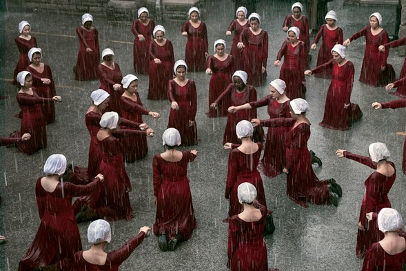 A scene from The Handmaid's Tale - HULU
