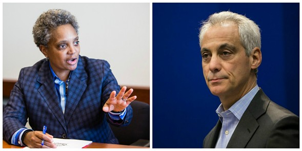 Lori Lightfoot is one of eight candidates challenging Mayor Rahm Emanuel. - SUN-TIMES