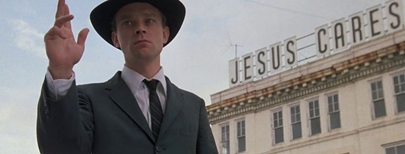 Brad Dourif in John Huston's Wise Blood