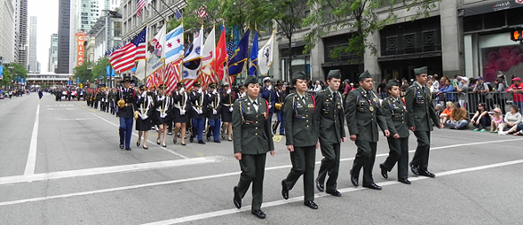 Don't miss Chicago's annual Memorial Day Parade 5/28.