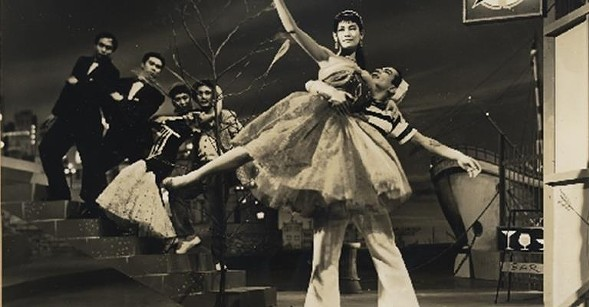 From the ballet sequence of The Winner