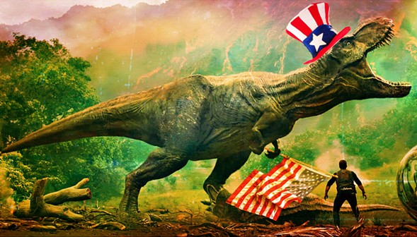 "When you think ""dinosaur"" you're probably thinking of one from North America like the T. rex. - RYAN SMITH"