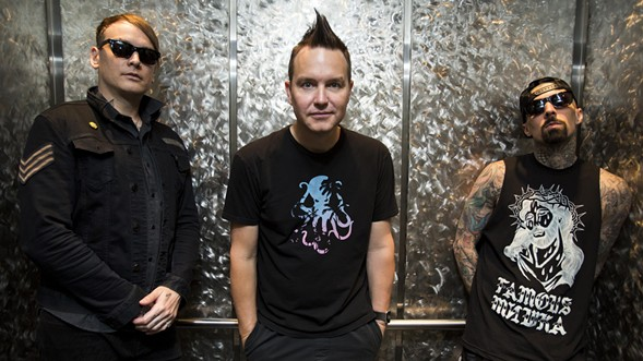 """""""What's My Age Again?"""" Blink-182 are collectively 130 years old, which makes them a little young to be so high on the bill at Riot Fest. - IMAGE VIA THE BLINK-182 FACEBOOK PAGE"""