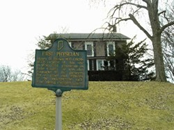 The house of Dr. Henry D. Palmer was built in 1836. - PROVIDED BY MERRILLVILLE/ROSS TWP. HISTORICAL SOCIETY