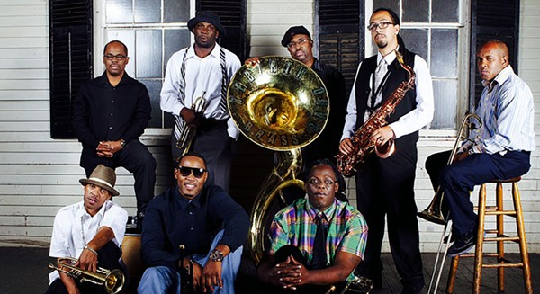 Rebirth Brass Band carries the torch of New Orleans brass band music while pushing the genre forward