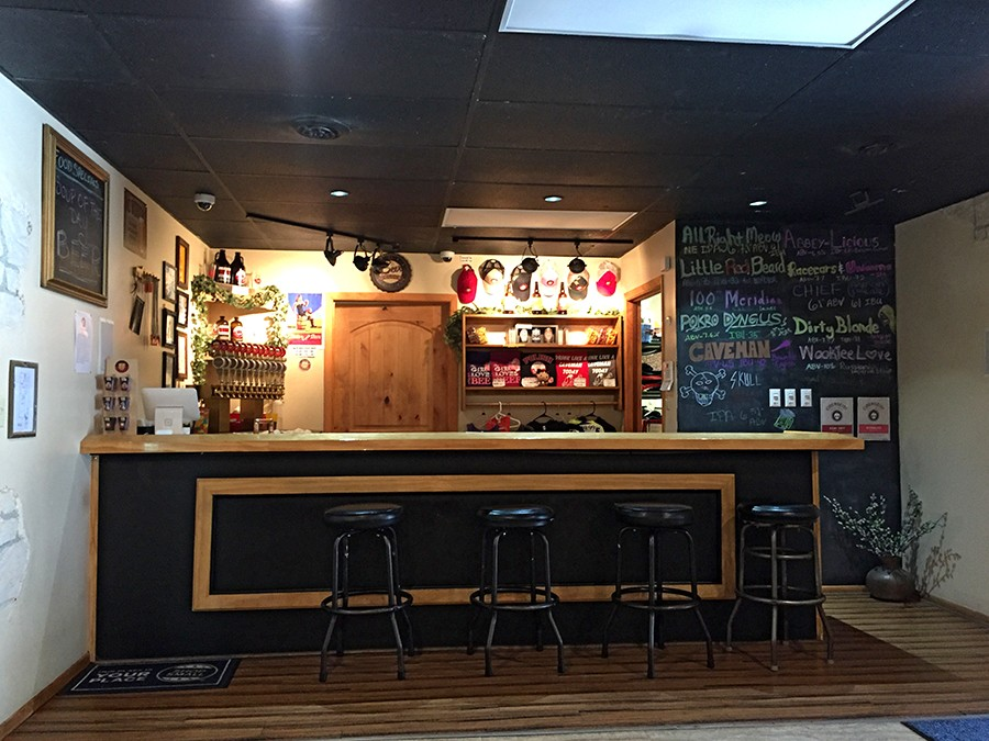 The interior of Pokro Brewing Company - JULIA THIEL
