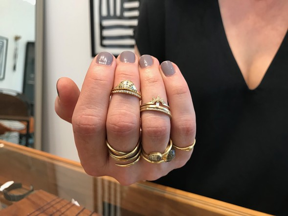 Alternative wedding rings by Diana Mitchell and Carla Caruso - ISA GIALLORENZO