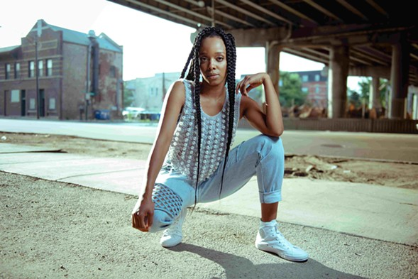 "Jamila Woods's ""Muddy"" is the A side of VFAC 004. - ZOE RAIN"