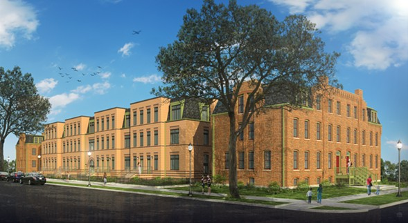 A rendering of Pullman Artspace Lofts - ARTSPACE