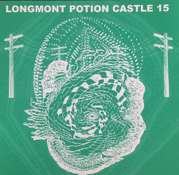 The cover of the latest Longmont Potion Castle album