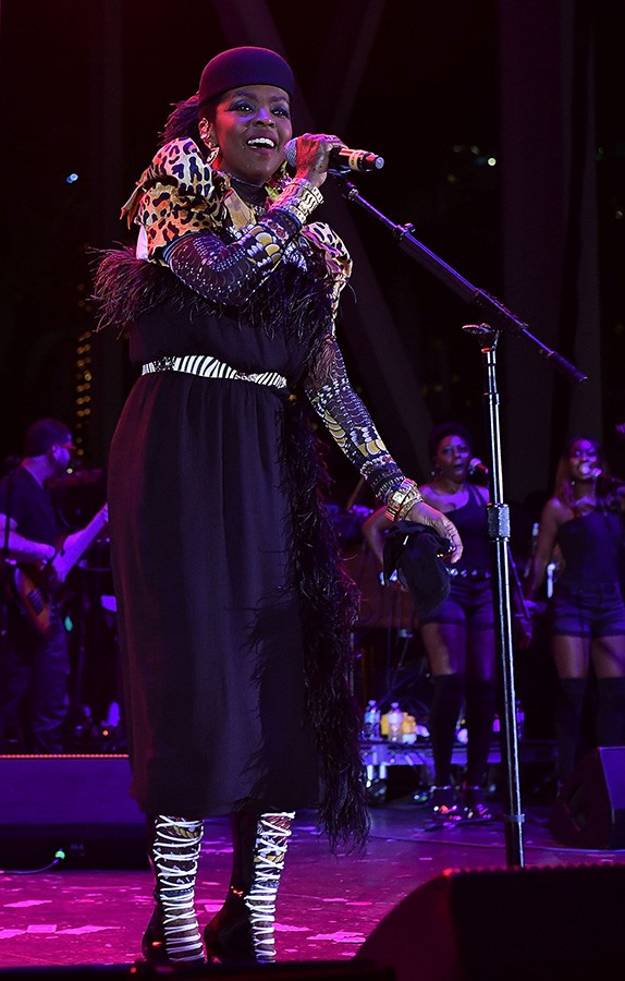 Ms. Lauryn Hill plays the Green Stage on Sunday at 8:30 PM. - GUSTAVO CABALLERO/GETTY