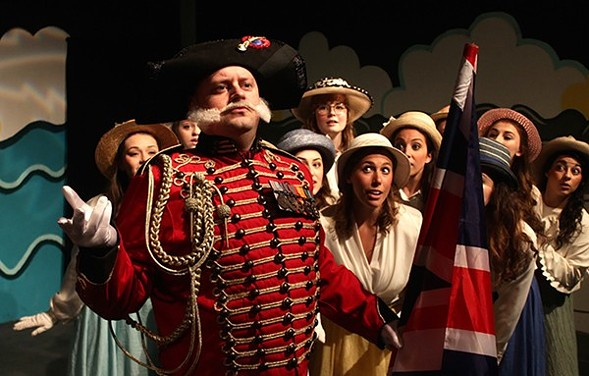 Saltbox Theatre Collective's Pirates of Penzance, at Stage 773 - RACHAEL NUCKLES