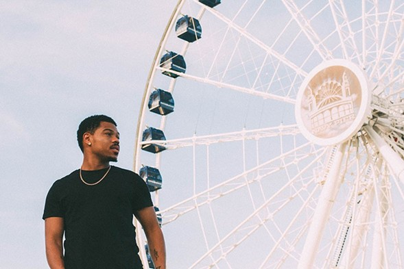 Taylor Bennett at Navy Pier - THOUGHTPOET