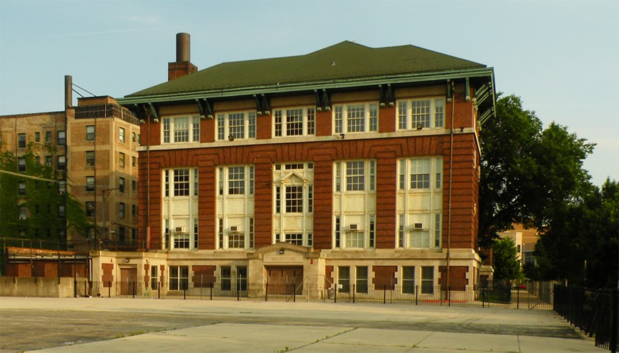 The former Stewart Elementary School in Uptown - COURTESY OF MORNINGSIDE