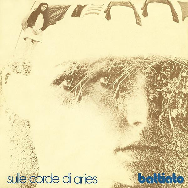 The cover of Franco Battiato's Sulle Corde di Aries