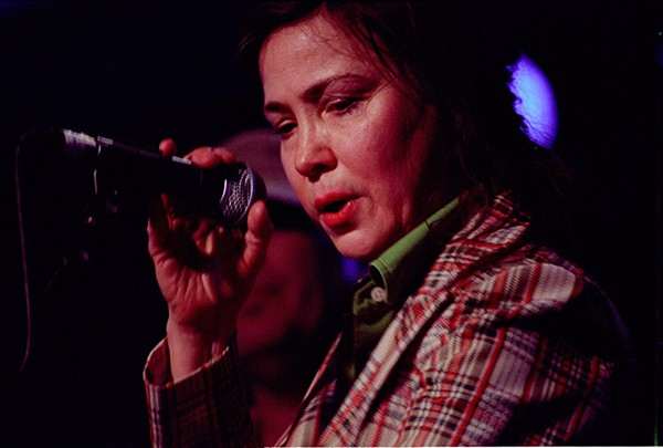 Mary Margaret O'Hara performs at All Tomorrow's Parties in Minehead in 2007. - GREG NEATE/SHOT2BITS.NET