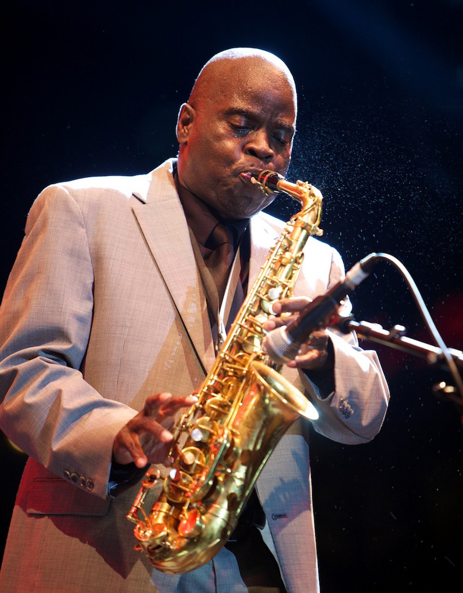 Maceo Parker plays Sunday at 7:45 PM at Pritzker Pavilion. - GUILLAUME LAURENT