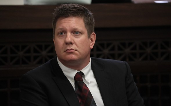 Jason Van Dyke's bail was raised slightly for giving media interviews just days before jury selection was set to begin. Critics accused the defense of trying to bias the jury pool. - ANTONIO PEREZ/CHICAGO TRIBUNE