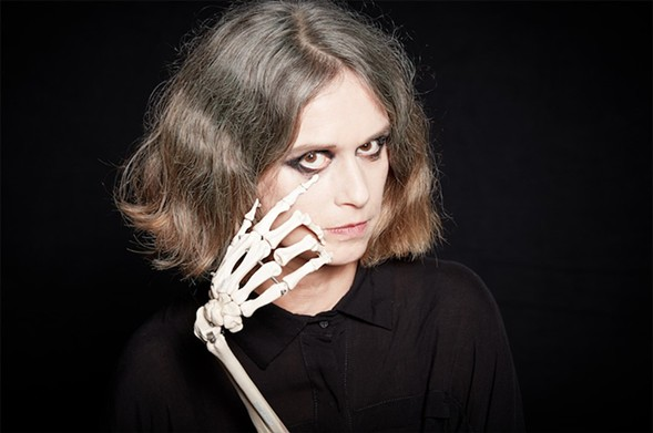 Argentine singer-songwriter Juana Molina plays a free show at the Promontory 9/8. - COURTESY THE ARTIST
