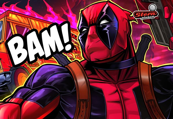 Deadpool jumps from the silver screen to the silver ball thanks to