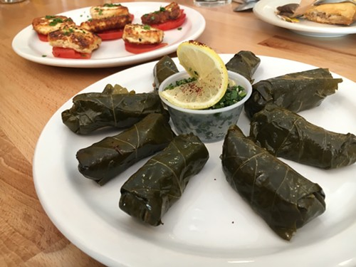 Grape leaves, Karam Grill - MIKE SULA