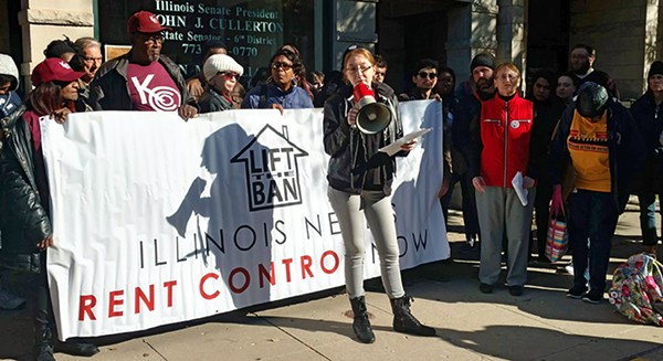 Lift the Ban Coalition members spoke about the impact of housing insecurity on women last Thursday - MAYA DUKMASOVA
