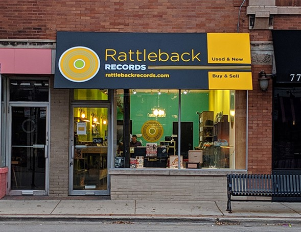 The Rattleback Records storefront - TAYLOR MOORE