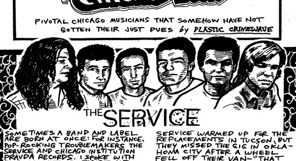 Eighties rockers the Service birthed venerable Chicago indie label Pravda Records