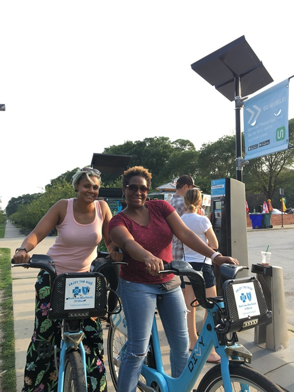 Divvy riders took a record 3,836,905 trips in 2017, contributing to the system's turnaround. - LOWELL NELSON