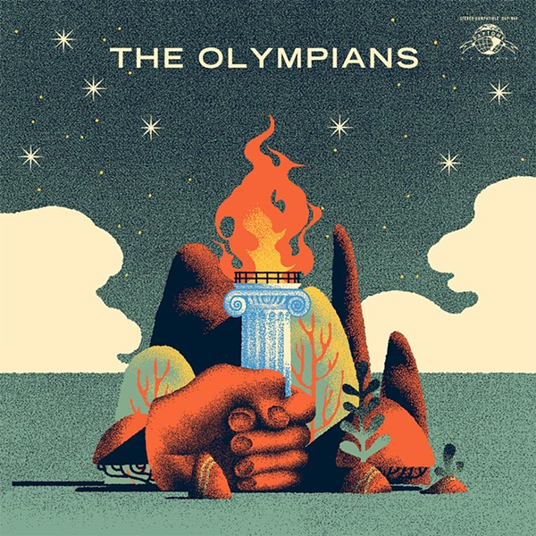 The cover of the Olympians' self-titled debut