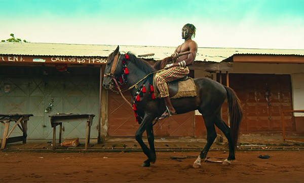 """A still from the video for Kirani Ayat's """"Guda"""""""