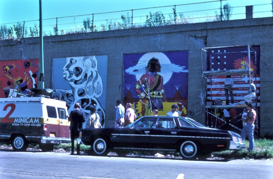 Murals at Aberdeen and Hubbard in 1973 - PROVIDED BY THE B_LINE