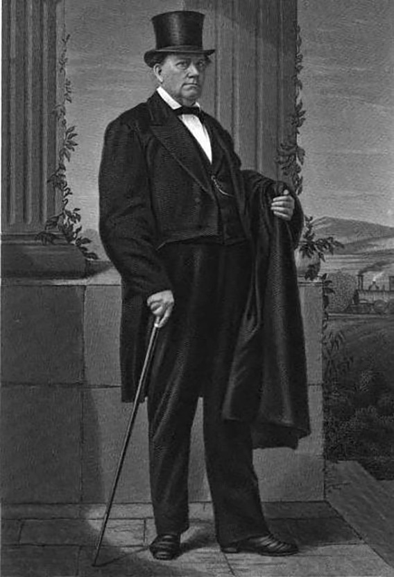 """Mayor """"Long John"""" Wentworth anticipated the midnight operations of future Chicago leaders. - THE WENTWORTH GENEALOGY, ENGLAND AND AMERICAN, VOLUME 1"""