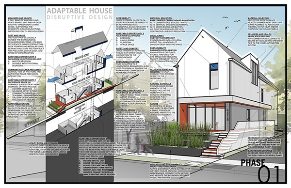 Adaptable-house by Greg Tamborino - GREG TAMBORINO