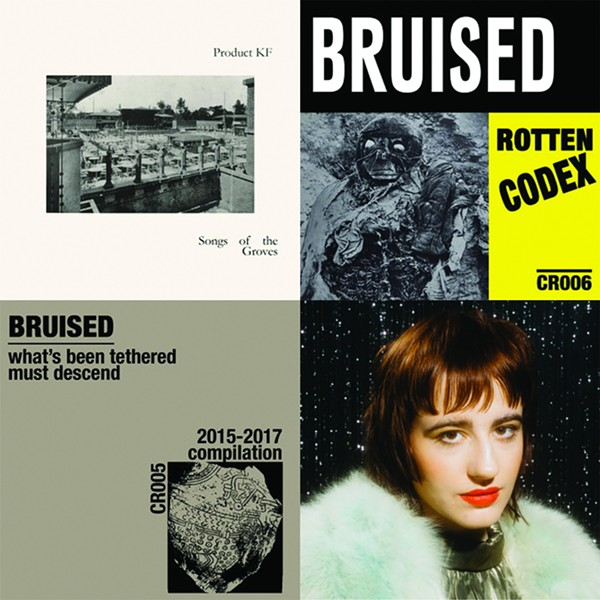 The first few months of Chicago Research releases include music by Product KF, Bruised, and Death Valley (lower right).