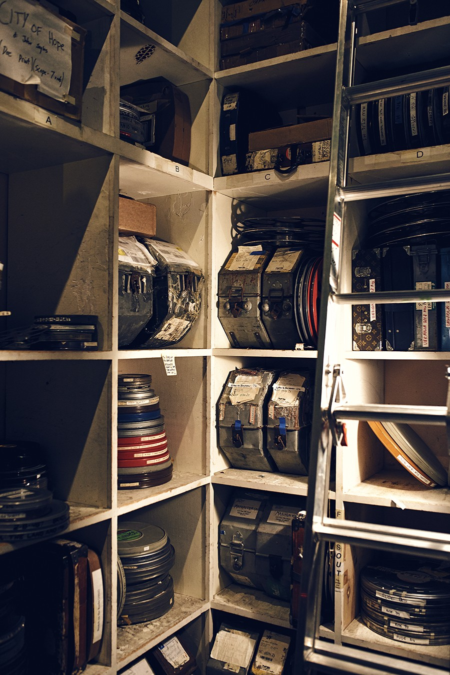 A closet full of reels - MAX THOMSEN