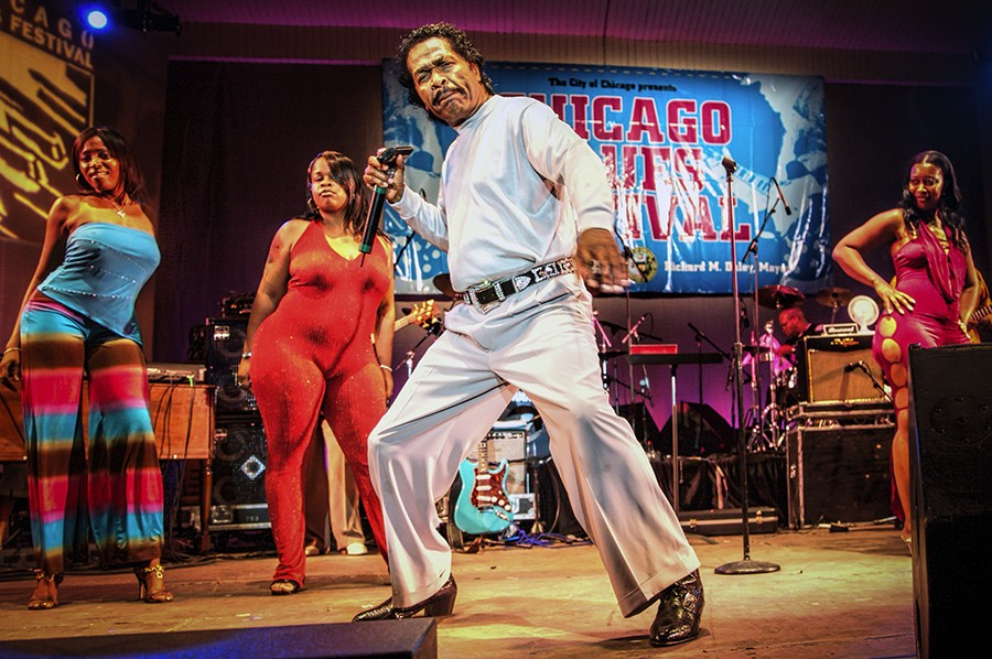 Bobby Rush plays the Jay Pritzker Pavilion on Friday. - MICHAEL JACKSON