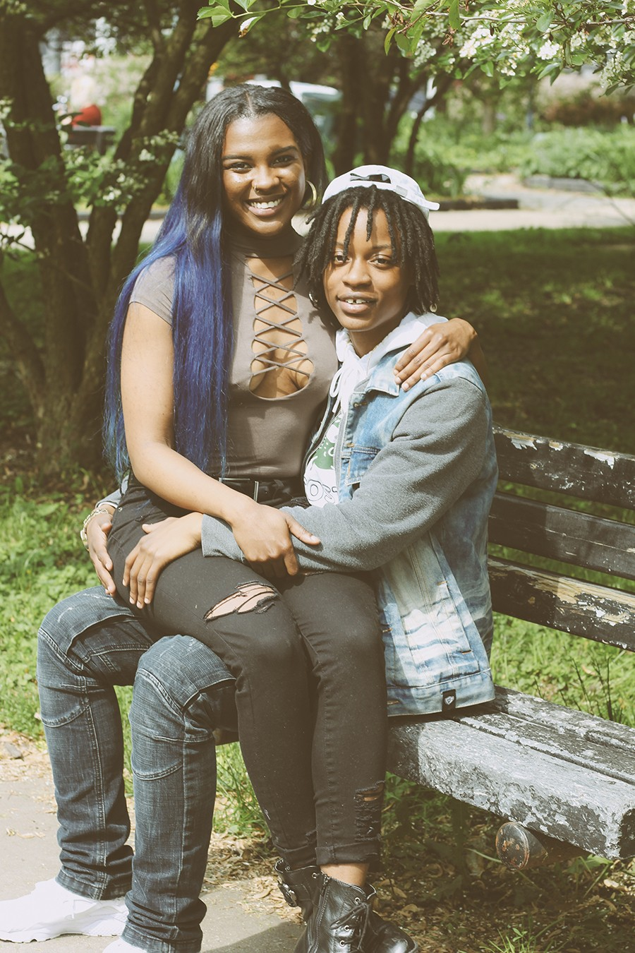 "Kiersten ""Kee"" Parks and Dominique ""Dumoo"" Johnson - ZAKKIYYAH NAJEEBAH"