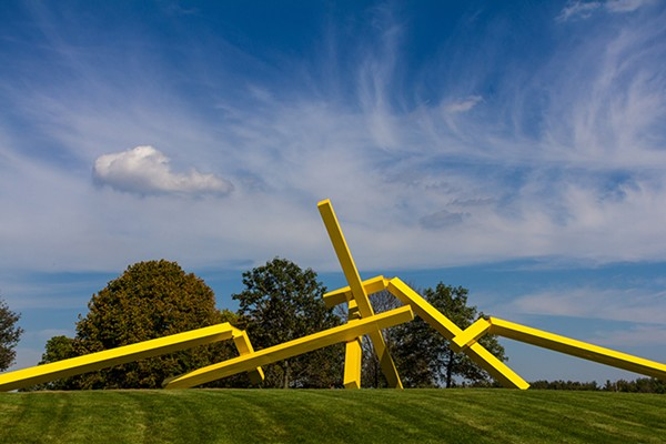 Illinois Landscape No. 5 by John Henry at the Nathan Manilow Sculpture Park - DONNY HARDER JR.