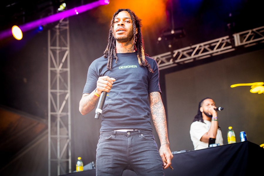 Valee at Lollapalooza in 2018 - ALISON GREEN