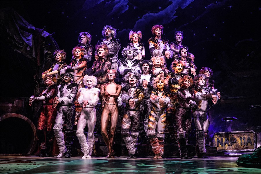 The North American touring company of Cats - MATTHEW MURPHY