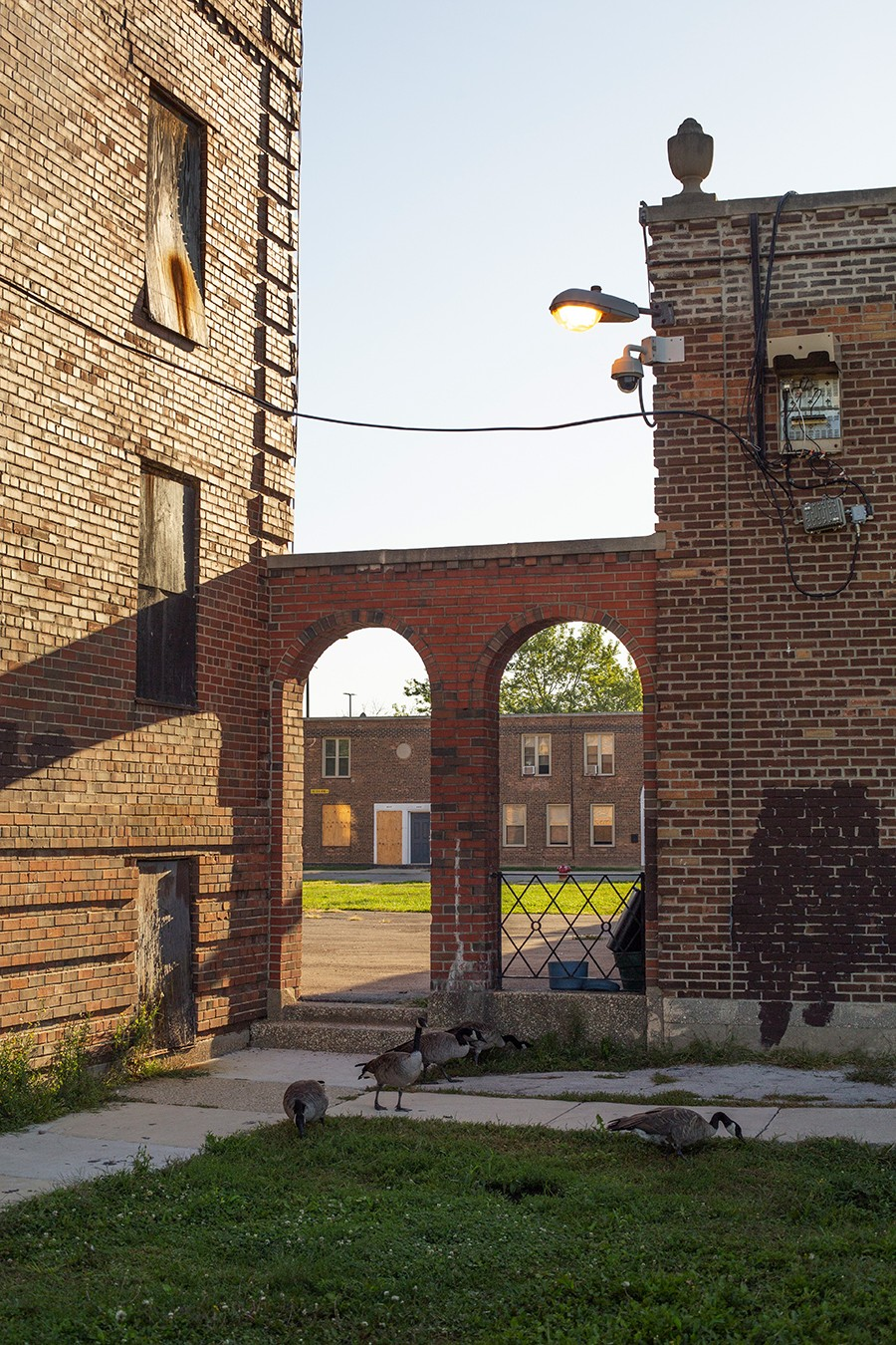 For years Lathrop was neglected by the Chicago Housing Authority but was on the radar of private developers for its attractive location and historic character. - JASONREBLANDO